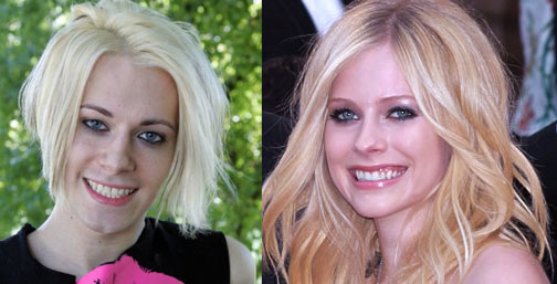Chris Crocker and Avril Lavigne separated at birth