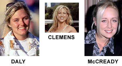 Roger Clemens\' women (so far)